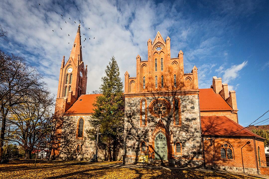 Lipiany, podziemia kościoła